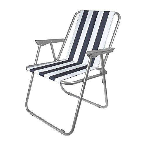 Generic * able Fold- Deck Garden old-up Leisure Stripped Portable Fold-up Portable Fold-up Outdoor utdoor Le Beach Chair ch Chair Picnic Folding Beach Chair