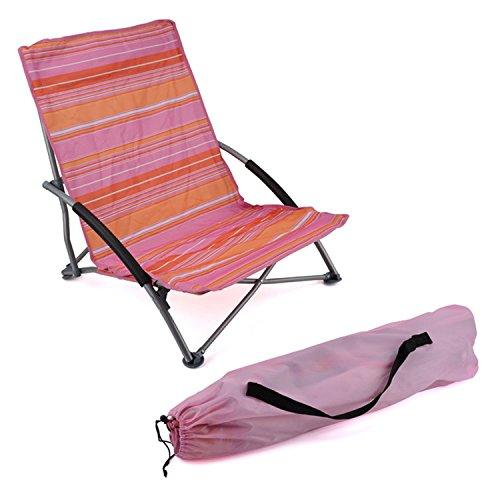 Generic * cnic Rel Chair Camping oor Pi Quick-dry Deck Outdoor Outdoor Picnic Relax Chair Camp Folding Beach Chair h Chair Low Slung Beach Chair