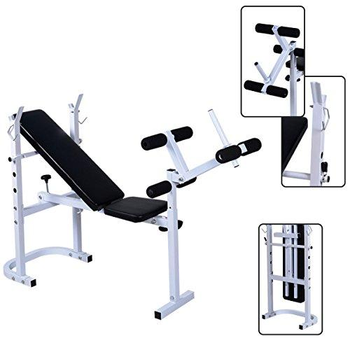 Generic e Gym Exercise Fitness Folding Weight Bench Home Gym Exercise Lift Lifting Chest Press Leg Fitness e Gym Exercise Folding Weight <1&851*1>