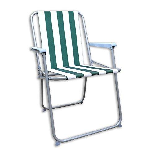 Generic * EN PATI DECK PICNIC RDEN PAT FOLDING STRIPED NEW GAR NEW GARDEN PATIO STRIPED BBQ PARTY CHAIR ARTY CHAIR CAMPING BEACH PARTY CHAIR