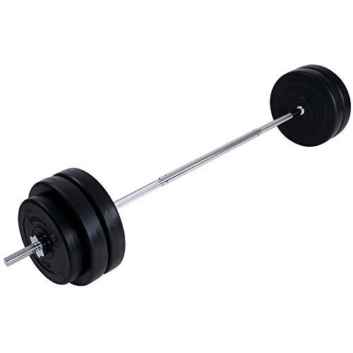 Generic Exercise 6 Weight ngth 1.68 m Home Barbell Set 56.5 Gym Barb Plates Bar cl. 6 Weig kg Incl. Exercise 6.5 kg I Length 1.68 m Home