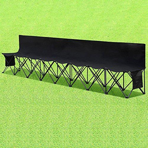 Generic * Folding Holder Picnic Folding B Camping Cup Seats Fol Seats Folding Bench ing Cup Hold Spectators Chair ators Chair Outdoor Garden Spectators Chair