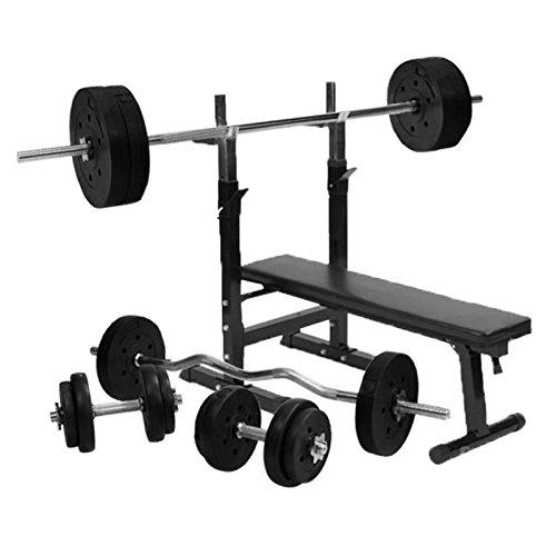 Generic Weight Set Sports Weight Bench Vinyl ght Bench with Vinyl
