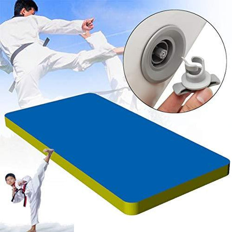 GEOPONICS 157.5x35.4x3.9inchAir Tumbling Track Gymnastics Mats Home Floor Training Equipment
