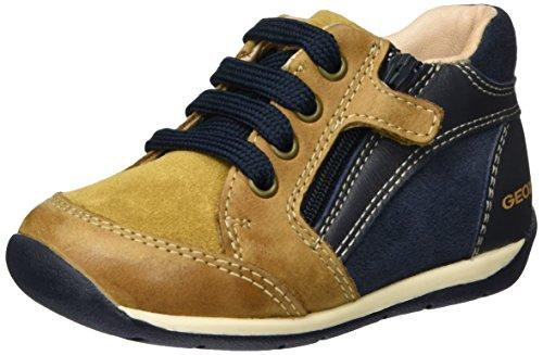 Geox Baby B Each BOY A Trainers, Beige (Biscuit/Navy C5BF4), 3 UK Child
