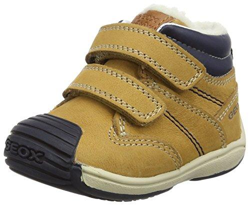 Geox Baby B Toledo BOY C Trainers, Beige (Biscuit/Navy C5BF4), 5 UK Child