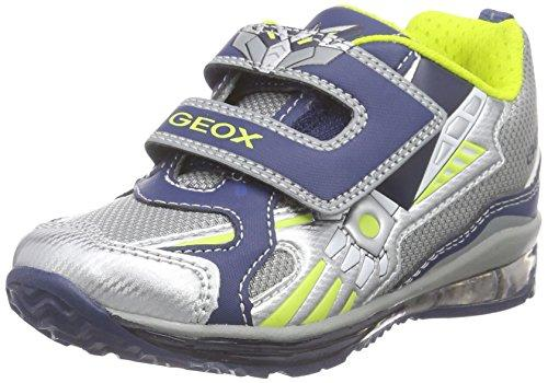 Geox Baby-Girls' B Todo Boy A Trainers Multi (Multicolor (Grey/Navy)) Toddler 7