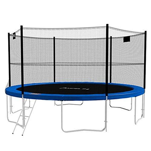 GGGJ Outdoor with protective net big trampoline outdoor jumping bed household trampoline spring bungee bed indoor children bounce bed