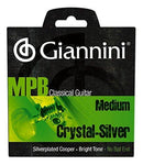 Giannini GENWS MPB Brazilian Jazz Series Classical Guitar Silver Plated Copper/Crystal Nylon Strings