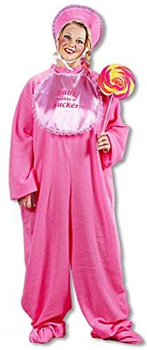 Giant Baby Costume Pink XL