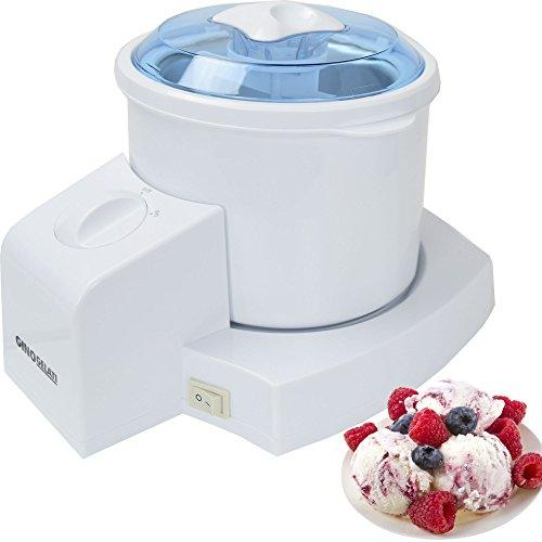 Gino Gelati Ice Cream Maker, Frozen Yoghurt Milkshake Machine 4in1 Bottle Cooler IC 70 W