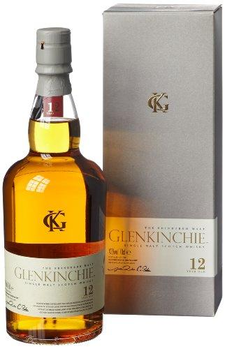 Glenkinchie 12 Year Old Single Malt Scotch Whisky 0.7 Litres in Gift Packaging