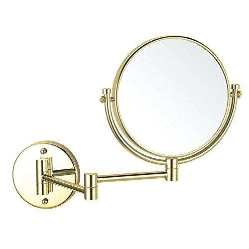 "Glimmer Nameeks AR7707-O-3x Wall Mounted Makeup Mirror, 4.2"" L x 8"" W"