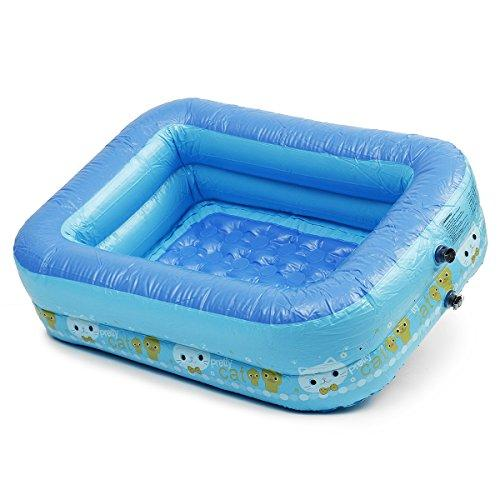 Global Brands Online Baby kids Toddler Child PVC Inflatable Swimming Pools Bath Spas Summer Fun Toy