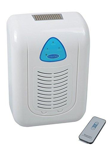 Global Care Market® Ozone generator Deodorizer Sterilizer Air Freshener Cleans Air Removes Smoke, Dust and Allergens, Remote Control Included