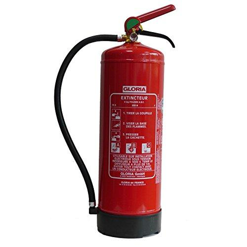 Gloria 412013 PD9GA ABC Powder Fire Extinguisher 9KG