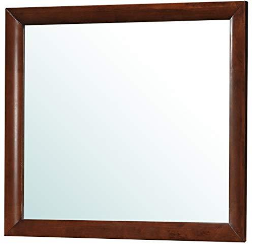 Glory Furniture Bedroom Mirror, Wood Cherry