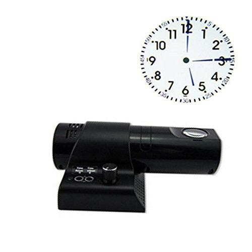 Glovion LED Digital Light Wall / Desk Projection Clock with Remote Control(Arabia Number &Rome Dial)