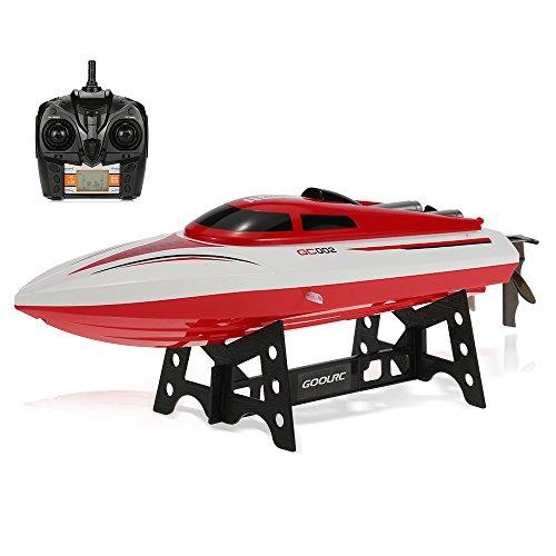GoolRC 2.4G Remote Controll 180° Flip 20KM/H High Speed Electric RC Boat Toy