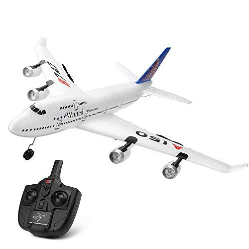 Goolsky Wltoys XK A150 Airbus B747 Model Plane RC Fixed-wing 3CH EPP 2.4G Remote Control Airplane RTF Toy