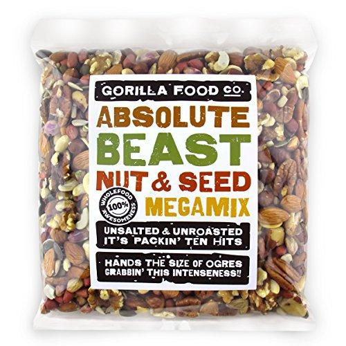 Gorilla Food Co. Absolute Beast Mixed Nuts & Seeds - 2.4kg (3 Packs)