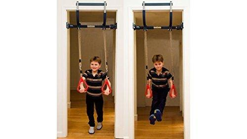 Gorilla Gym Kids with Indoor Swing, Plastic Rings, Trapeze Bar ...