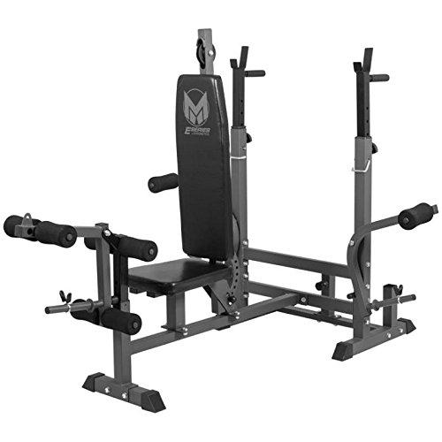 ... Gorilla Sports Gyronetics E Series Universal Weight Bench Workstation  ...