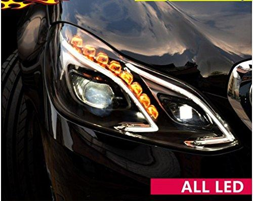 GOWE Car Styling For E-Class E180 E200 E260 E300 W212 ALL LED headlight 2014 2015 2016 Daytime Running Light bi- Xenon Lens Color ALL LED headlight