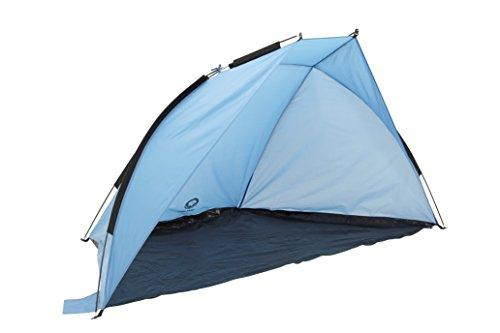 GRAND CANYON Malibu - beach tent, UV40 protection, sun and wind protection, blue/black, 302207