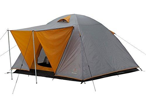 GRAND CANYON Phoenix L - dome tent ( 4-person tent), grey/orange, 302016