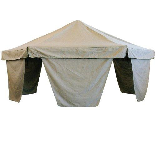 Green Eggs & Hammocks Shade Canopy for Palapa Hammock Chair, White