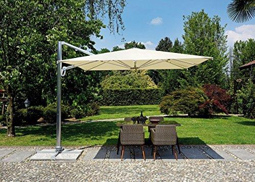 Greenwood Parasol Aluminium Square Pole 300 x 300 and Side 5044