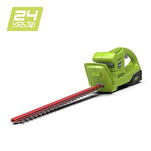 Greenworks 24V Cordless Hedge Trimmer (OPP) - Battery and charger not included - 2201207