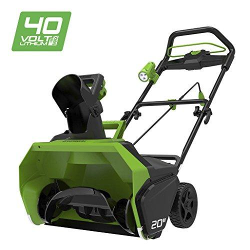 Greenworks 40V Cordless Snow Thrower - Battery and Charger not Included - 2600007