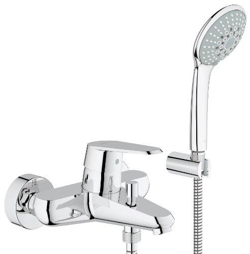Grohe 33395002 Eurodisc Cosmopolitan Bathtub Tap with Shower Head Attachment