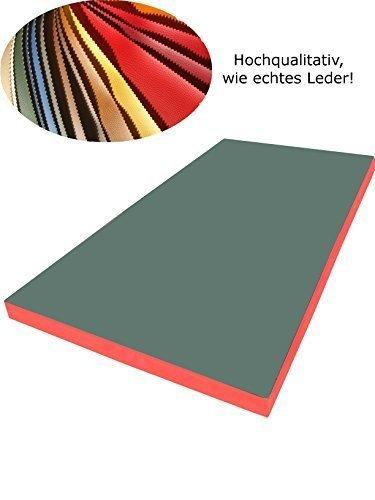 Ground mat gymnastics mat soft Floor Mat 200 x 100 x 8 cm Various Designs Grün/Rot Size:200 x 100 x 8 cm