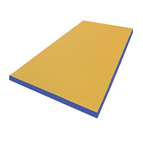 Ground mat gymnastics mat soft Floor Mat 200 x 100 x 8 cm Various Designs red/yellow Size:200 x 100 x 8 cm