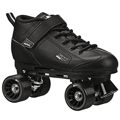 GTX-500 Roller Skates - Newly Revised Model (Black, Kids 1)