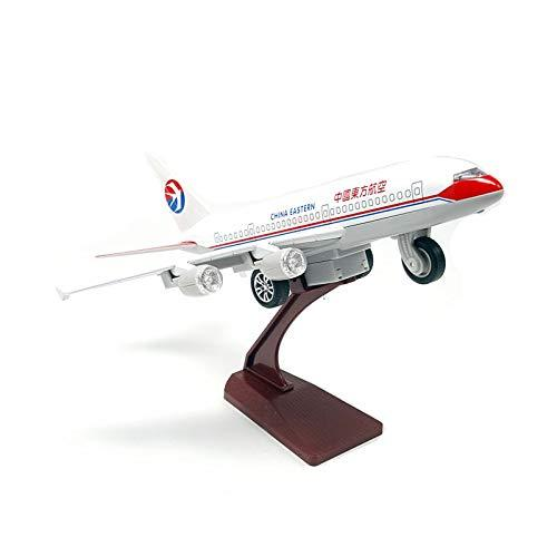 GUANGYING Alloy Airliner Aircraft Model Airbus Southern Airlines Oriental Hainan Aircraft Model Sound And Light Pull Back Toys