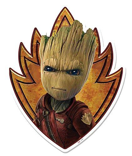 Guardians of the Galaxy – Groot Emblem Wall Decoration made of cardboard – SIZE Approx. 26 x 83 cm
