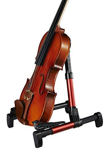 Guitar Stand for Acoustic/Electric/Classical Guitars and Violin, Ukulele, Bass, Banjo, Mandolin - Folding, Portable and Lightweight - Fits Your Gibson/Fender/Taylor/Yamaha Music Instruments - The Ultimate for Concert & Travel - Premium Accessories by Nord