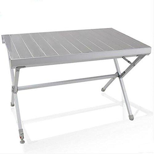GUO Aluminum Outdoor Outdoor Portable Desk Camping Folding Table