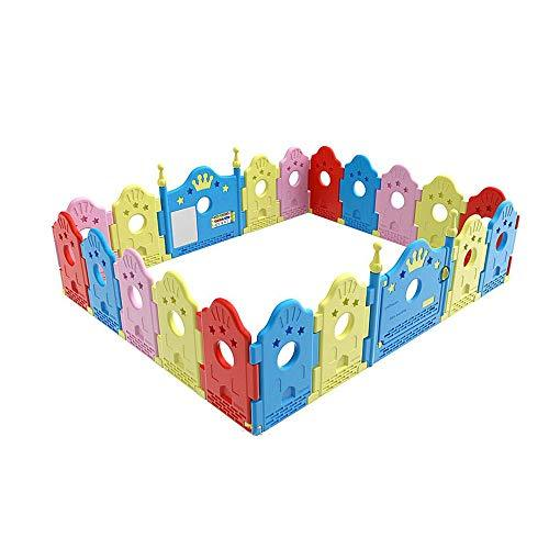GYH Safety Fence,Indoor And Outdoor Playpens Room Dividers Children's Crawling Fence Safety Fence ( Size : 216*180cm )