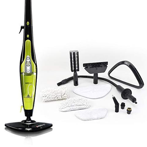 H2O HD Steam Cleaner - 5 in 1 Multi Purpose Floor Mop, Window Cleaner, Carpet and Garment Steamer - Hand-Held Function for Kitchens and Bathrooms - Award Winning Steam Cleaning from THANE