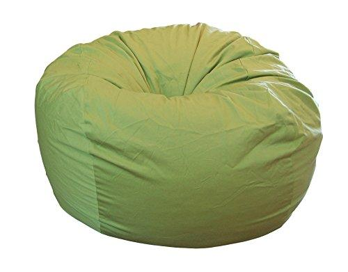 HAHAHA Ahh! Products Lime Organic Cotton Large Bean Bag Chair