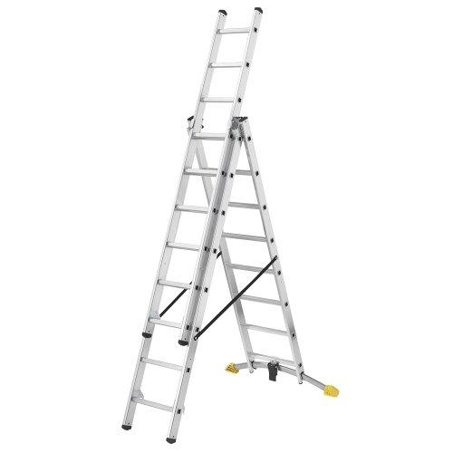 Hailo 1420-501 Hobby LOT Aluminium Stepladder With LOT-System