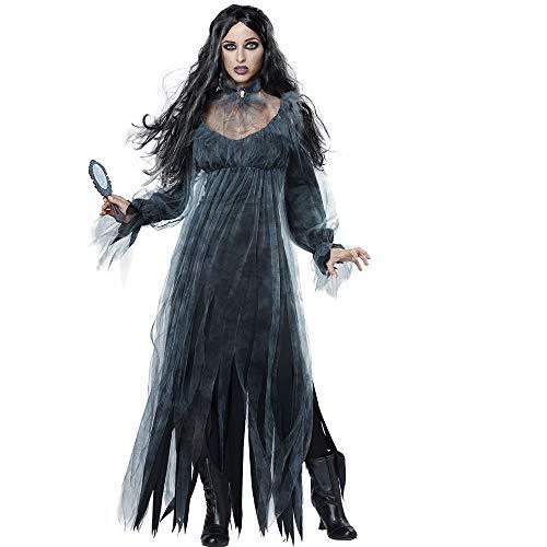 halloween new horror ghost bride lost costume game costume bar stage vampire demon costumeblack
