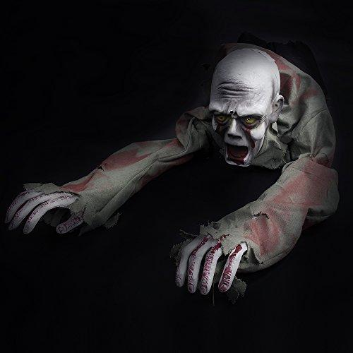 halloween props crawling zombie ghost skeleton battery operated motion high quality store