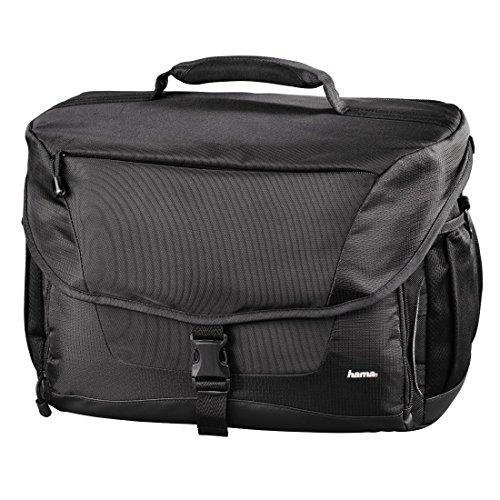 Hama 'Rexton V3 170' Equipment Bag for Digital SLR Cameras, Camera Accessories, Tablets & Lenses | W x D x H: 29.5 x 16 x 20 cm - Weight: 950 g | Compatible with Sony, Panasonic, Nikon, Kodak, Canon & Many More - Black