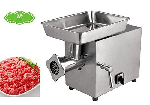 Hanchen Commericial Stainless Steel Electric 220KG/H Table Meat Grinder Mincer Automatic Meat Cutting Machine(230v, C22B)